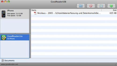 GoodReaderUSB   Free Mac Software